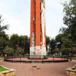 pz.le Selinunte, torre della ex-centrale termica