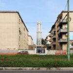 via Giambellino 148-150, centrale termica per il teleriscaldamento dei condomini ALER