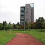 """Torre """"7° cielo"""" dai giardini Gonin-Giordani"""
